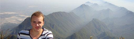 Die Früchte harter Arbeit: Aussicht nach der mehrstündigen Besteigung von Cerro de la Silla